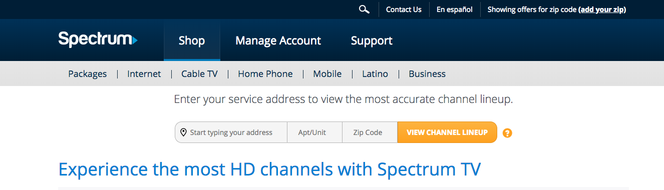 photo relating to Printable Charter Channel Guide referred to as Spectrum Channel Listing
